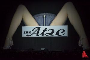 """Die Essener Antwort auf die Traditionsgaststätte in Hamburg, """"Zum Atze"""" öffnete am Freitag und Samstag ihre Pforten. (Foto: th)"""