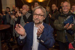 Pfarrer Martin Mustroph freut sich über den Erfolg des von ihm mit angeregten Bürgerbegehrens. (Foto: th)