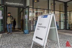 Freier Sonntag Münster: Das Hauptabstimmungsbüro im Stadthaus 1 ist die Alternative zur Briefwahl. (Foto: th)