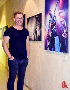 Fotodesigner Markus Hauschuld zeigte einige seiner Arbeiten im Nomad. (Foto: so)
