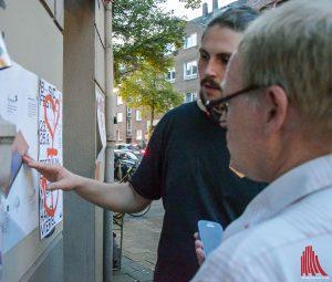 Sascha Kullak, Vorstandsmitglied beim B-Side e.V., erläutert das Konzept für die B-Side. (Foto: so)