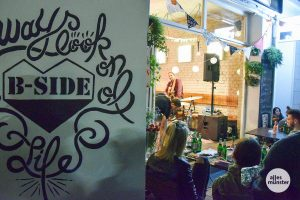 Das B-Side Festival findet am 20. und 21. September im Hansaviertel statt. (Archivbild: Tanja Sollwedel)