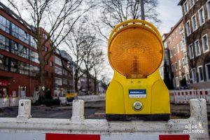 Der Hansaring wird am Wochenende wieder für Bauarbeiten gesperrt. (Archivbild: Thomas Hölscher)