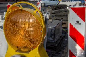 Ferienzeit ist Baustellenzeit. In den Sommerferien trifft es die Kreuzung Wolbecker Straße / Ring. (Archivbild: Thomas Hölscher)
