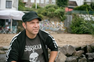 """Ole Plogstedt - Rock 'n' Roll Caterer, Fernsehkoch und Mitorganisator des """"Plattenladen für einen Tag"""""""