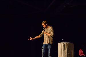 Bastian Bielendorfer, das Lehrerkind. (Foto: tm)