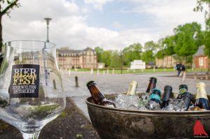 Das 2. Münsteraner Bierfest findet Anfang Juni wieder vor dem Schloss statt. (Foto: th)
