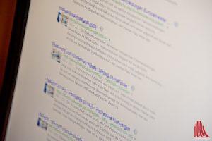 Wer seine Fotos bei Googles Rückwärtssuche für Fotos eingibt, kann böse Überraschungen erleben. (Foto: mb)