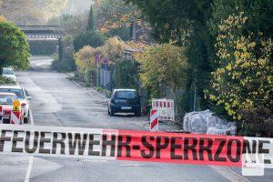 Am Lechtenbergweg musste ein Blindgänger entschärft werden. (Foto: je)