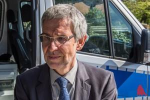 Polizeipräsident Hajo Kuhlisch erläuterte die Wichtigkeit des Blitzmarathons. (Foto: th)