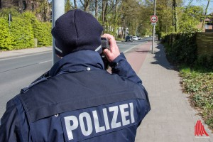 An über 60 Messstellen überprüfte die Polizei die Geschwindigkeit. (Foto: th)