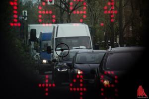 Per Lasermessung überprüfte die Polizei beim Blitzmarathon über 50.000 Fahrzeuge. (Foto: th)