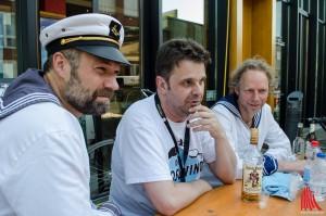 Echte Seemänner: Die Blosewinds. (Foto: th)