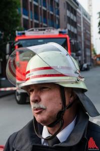 Feuerwehrchef Benno Fritzen (Foto: th)