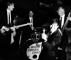 "Nach der Show ""Clowns Company"" liefern ""boom drives crazy"" Rock'n'Roll. (Foto: Promo)"