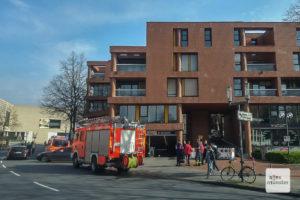 Im Aegidii-Parkhaus kam es zu einem Feuerwehr-Einsatz. (Foto: Michael Bührke)