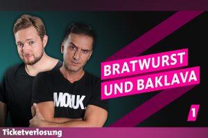Bastian Bielendorfer (li.) und Özcan Cosar bringen Bratwurst und Baklava nach Münster. (Foto: Promo)