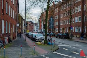 An der Bremer Straße herrscht nun teilweise eingeschränktes Halteverbot. (Foto: th)
