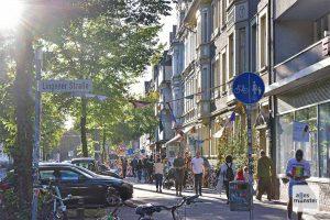 Das Hansaviertel in Münster. (Foto: Tessa-Viola Kloep)