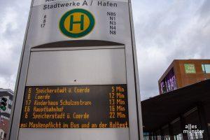Die Stadtwerke nehmen ab Mittwochnachmittag weitere Linien zurück in den Busverkehr. (Archivbild: Thomas Hölscher)