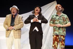 """""""Was ihr wollt"""" im Borchert Theater. (Foto: Klaus Lefebvre)"""