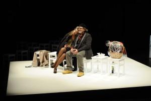 Das Wolfgang Borchert Theater zeigt das preisgekrönte Ehe-Duell GIFT. EINE EHEGESCHICHTE. (Foto: KyoungJae Cho)