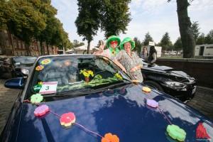 """""""Flower Power"""" war das Motto der Lady Cabrio Rallye. (Foto: rwe)"""