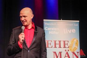 Comedian Carsten Höfer mit seinem neuen Liveprogramm im Kreativ-Haus. (Foto: bk)