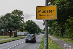Hinterm Horizont...? So weit weg liegt der Stadtteil Coerde jedenfalls für viele Münsteraner. (Foto: Thomas Hölscher)