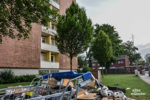 Münsters nördlicher Stadtteil Coerde ist nicht gerade als Schmuckstück berühmt. (Foto: Thomas Hölscher)