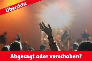 Abgesagt oder verschoben? Veranstaltungsübersicht für Münster (Foto: CC0)