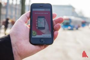 Handy-Apps sollen für nahtlose Mobilität mit den verschiedensten Verkehrsmitteln sorgen. (Foto: th)