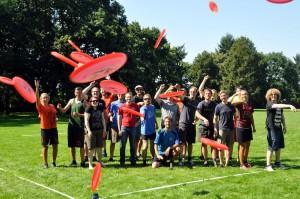 Vorfreude auf das Frisbeefestival: Die europäischen Scheibenwerfer kommen an Pfingsten in Münster zusammen. (Foto: Frisbee NRW / szy)