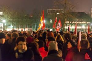 AfD-Gegner rufen zu Protesten gegen den Besuch von Frauke Petry auf. (Symbolbild: wf / Weber)