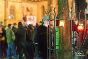 Eine für Samstag angemeldete Demonstration mit Ende auf dem Domplatz wurde nicht genehmigt. (Archivbild: Thomas M. Weber)