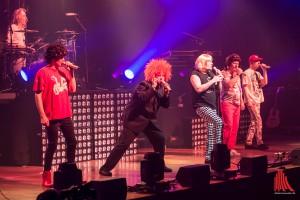 So kennt man die Band seit 25 Jahren: Die Prinzen. (Foto: th)