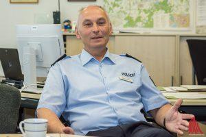 Rudi Koriath ist der neue Direktionsleiter Verkehr des Polizeipräsidiums Münster. (Foto: th)