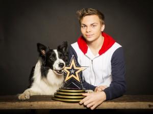 Lukas und Falco überzeugten die RTL-Juroren und werden auch das Doglive-Galapublikum begeistern. (Foto: Stefan Zarnisch)