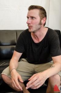 Jan Dirk, Bassist und Ex-Hansaring-Bewohner. (Foto: th)