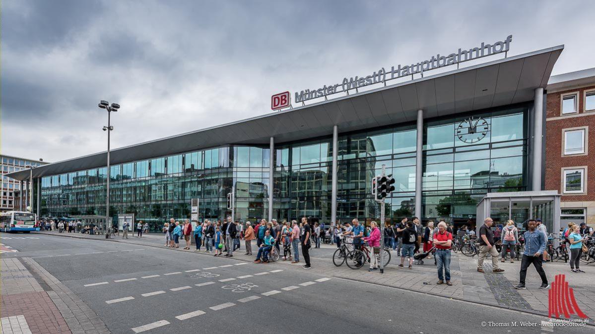 Schienenersatzverkehr Für Die Rb 50 Alles Münster
