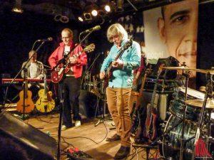 ERDMÖBEL bei ihrem Konzert im Sputnik-Café. (Foto: Marius Münster)