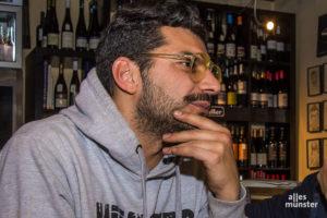 """Erkan Ular betreibt in Münster die """"Idéal Weinbar"""" und das """"Smells Like"""". (Archivbild: Thomas Hölscher)"""