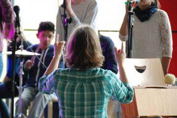 Geräuschbelastung durch Musikaufführungen - danach sehnt sich die Autorin seit Monaten. (Foto: Martin Rieger)