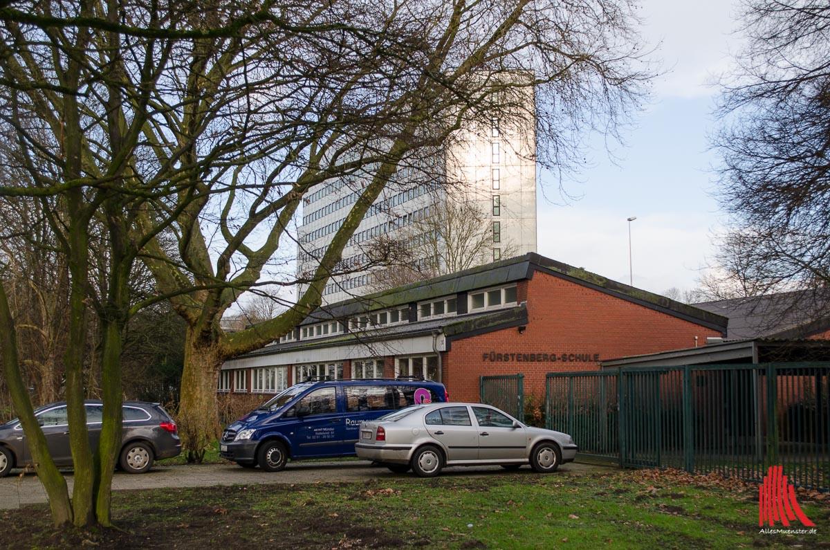 Ab dem Sommer wird in der ehemaligen Fürstenberg-Schule Münsters zweite Gesamtschule untergebracht. (Foto: th)