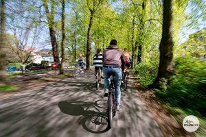 Auch Radfahrer müssen jetzt mit höheren Bußgeldern rechnen. (Archivbild: Michael Bührke)