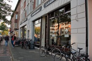 Das Ladengeschäft an der Steinfurter Straße 9 (Foto: Michael Bührke)