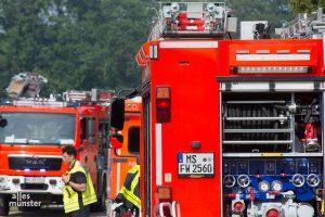 Am 20 September findet die große Evakuierung in Münster Mauritz statt. (Archivbild: Thomas Hölscher)
