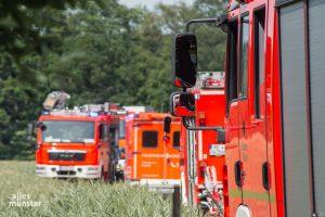 Die Feuerwehr wurde zu einem Brand nach Münster-Handorf gerufen. (Archivbild: Thomas Hölscher)