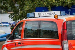 Die Feuerwehr suchte in der Nacht am Aasee nach einer vermissten Person. (Archivbild: Thomas Hölscher)