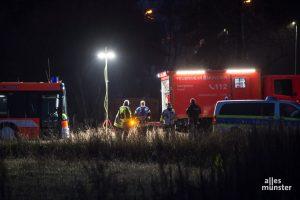 Die Feuerwehr Münster musste gestern Abend zu zwei Wohnugsbränden ausrücken. (Archivbild: Thomas Hölscher)